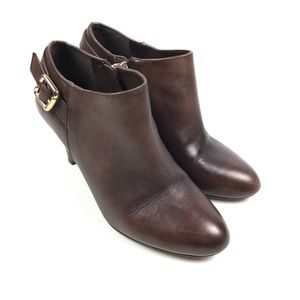Vince Camuto Vanny Leather Ankle Boots Booties